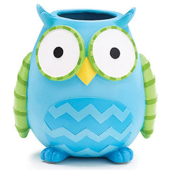 WHO'S CUTEST BOY Blue Owl Resin Vase/Planter - 3 Pack