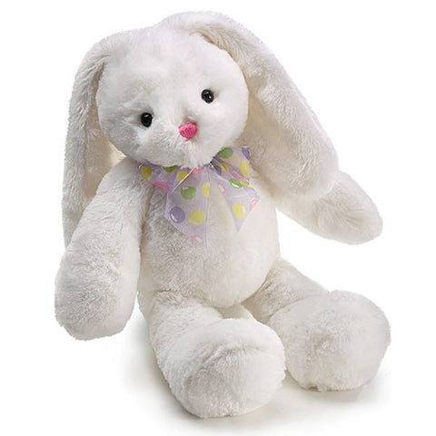 Picture of White Isabelle Plush Bunny