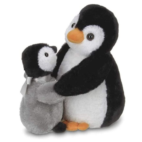 Picture of Wiggles & Wobbles Plush Stuffed Penguin with Baby