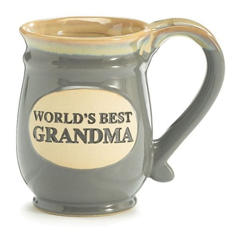 Picture of World's Best Grandma Porcelain Mugs - 6 Pack