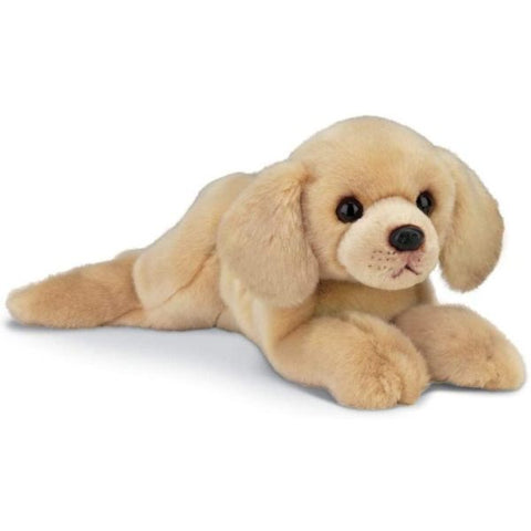 Picture of Yellow Labrador Retriever Plush Stuffed Dog Tanner