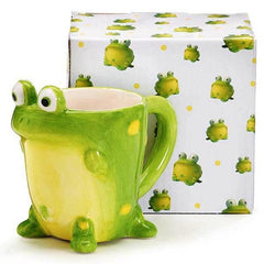 Toby the Toad Frog Coffee Mug Tea Cup