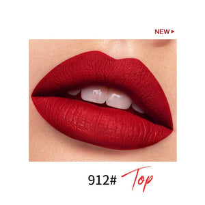 Matte 18 Colors Lip Gloss Mini Capsule Shape Lip Glaze Velvet Moisture Lasting Non-stick Cup Smooth Matte Lip Gloss TSLM1