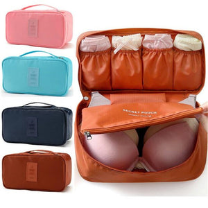 Women Bra Storage Bag, Underwear Bag Bra Organizer Bag, Travel Packing Bag, Ladies' Bedroom Pouch, Travel Packaging Cube
