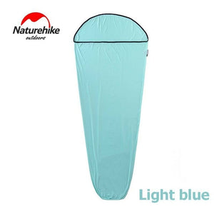 Naturehike Outdoor Mummy Single Sleeping Bag Liner Super Elastic Sleeping Bags Camping Bussiness Hospital Travel Spring Summer