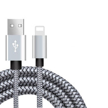 Load image into Gallery viewer, 20cm 1m 2m 3m Data USB Charger Cable For iPhone 6s 6 s 7 8 Plus 11 Pro Xs Max XR X 5s iPad Fast Charging Origin Long Wire Cord