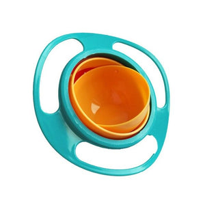 Baby Feeding Toy Bowl Dishes Rotate 360 Technology Funny Gift Baby Accesories Baby Learning Training Tableware Safe And Secure