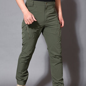 IX9 Stretch Hiking Pants Men Outdoor Sports Trekking Camping Fishing Cargo Waterproof Women Trousers Military Tactical Pants