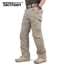 Load image into Gallery viewer, TACVASEN IX9 Men City Tactical Pants Multi Pockets Cargo Pants Military Combat Cotton Pant SWAT Army Casual Trousers Hike Pants