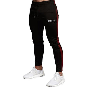 2019 Casual Skinny Pants Mens Joggers Sweatpants  Fitness Workout Brand Track pants New Autumn Male Fashion  Trousers