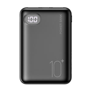 RAXFLY Mini Power Bank 10000mAh Cell Phone Portable Charger LED Powerbank 10000 mAh For Xiaomi External Mobile Battery Poverbank