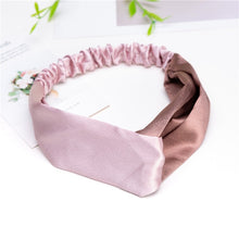 Load image into Gallery viewer, Fashion Women Girls Summer Bohemian Hair Bands Print Headbands Vintage Cross Turban Bandage Bandanas HairBands Hair Accessories