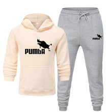 Load image into Gallery viewer, New Pumba Two Pieces Hoodie Batman Hooded Men Casual Cotton Fall / Winter Warm Sweatshirts Men's Casual Tracksuit Costume S-XXXL
