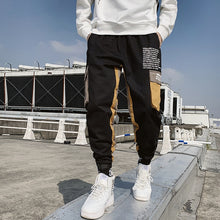 Load image into Gallery viewer, Ribbons Harem Joggers Men Cargo Pants Streetwear 2020 Hip Hop Casual Pockets Track Pants Male Harajuku Fashion Trousers