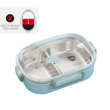 Load image into Gallery viewer, WORTHBUY Japanese Lunch Box With Compartment 304 Stainless Steel Bento Box For Kids School Food Container Leak-proof Food Box