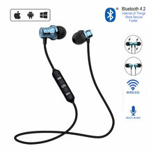 Load image into Gallery viewer, XT11 Sports Running Bluetooth Wireless Earphone Active Noise Cancelling Headset for phones and music bass Bluetooth Headset
