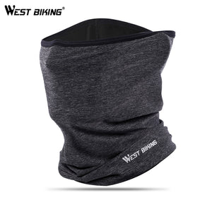 WEST BIKING Summer Sports Scarf Ice Silk Bike Headwear Anti-UV Breathable Running Bandana Protection Cycling Equipment