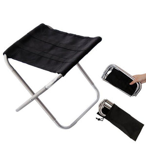 Quality Outdoor Foldable Fishing Chair Ultra Light Weight Portable Folding Camping Aluminum Alloy Picnic Fishing Chair with Bag
