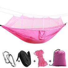 Load image into Gallery viewer, Ultralight Hammock Go Swing Mosquito Net Double Person Sleeping Bed Outdoor Hunting Camping Portable Hammock Drop-Shipping