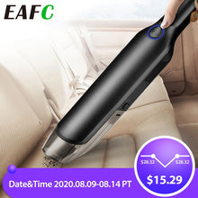 Load image into Gallery viewer, Handheld Wireless Vacuum Powerful Cyclone Suction Rechargeable Car Vacuum Cleaner Wet/Dry Auto Portable for Car Home Pet Hair