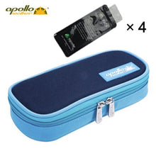 Load image into Gallery viewer, Apollo Insulin Cooler Bag Portable Insulated Diabetic Insulin Travel Case Cooler Box Bolsa Termica 600D Aluminum Foil ice bag