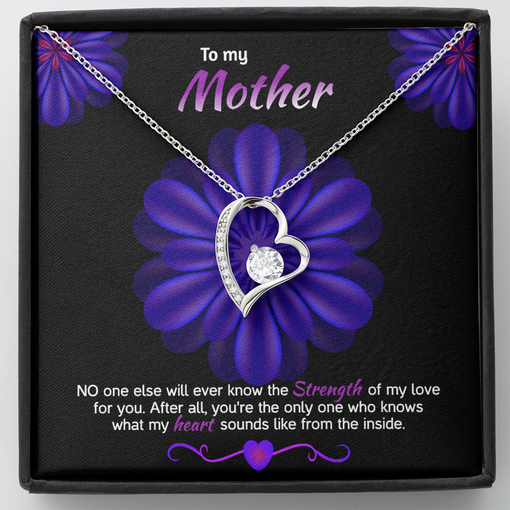 "Mother gift ""Forever LOVE"" Necklace (style 38)"