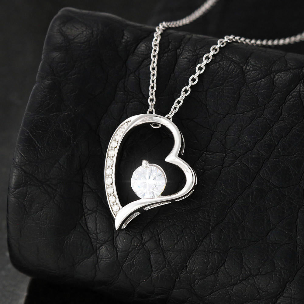"Wife PERSONALIZED ""Forever LOVE"" Necklace (art 16)"