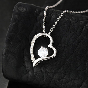 "Future Wife PERSONALIZED ""Forever LOVE"" Necklace (art 1)"
