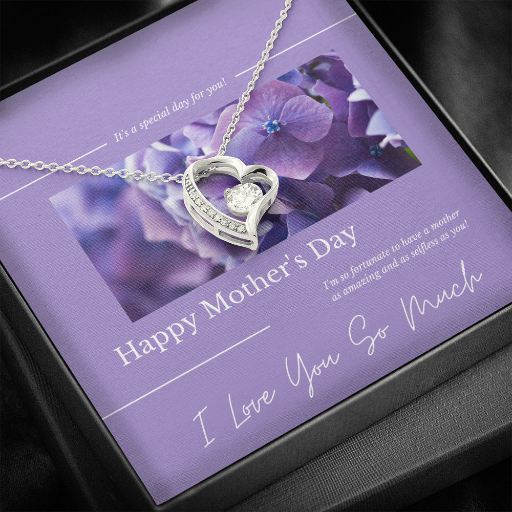 "Mother's Day gift ""Forever LOVE"" Necklace (art 31)"