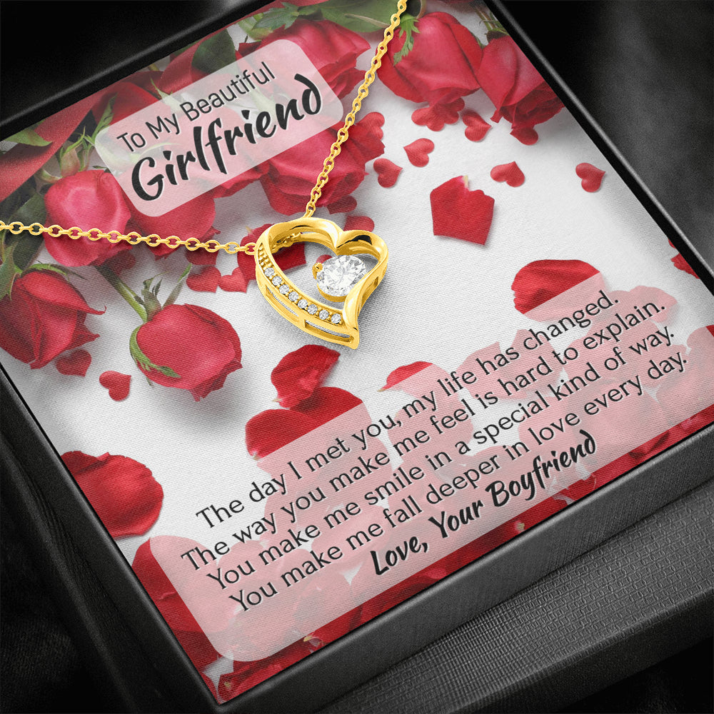 "Girlfriend ""Forever LOVE"" Necklace (art 10)"