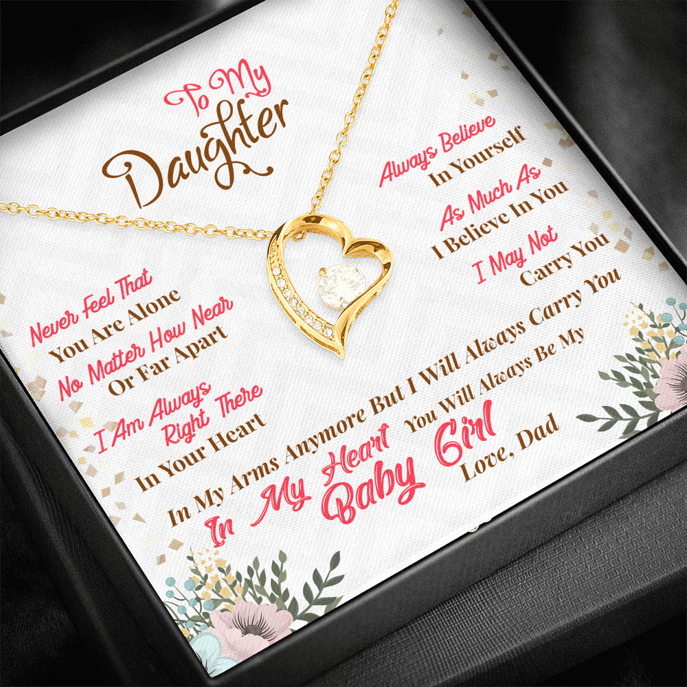 "Daughter ""Forever LOVE"" Necklace (art 23)"