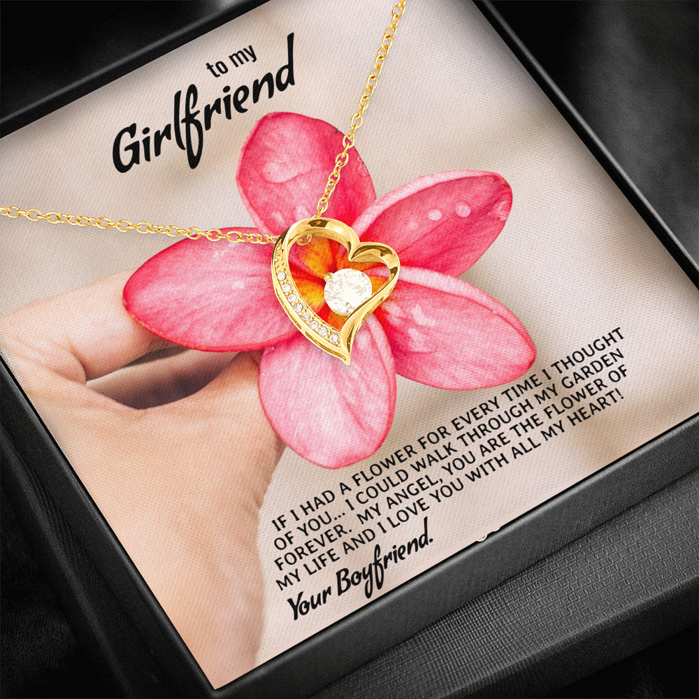 "Girlfriend ""Forever LOVE"" Necklace (art 3)"