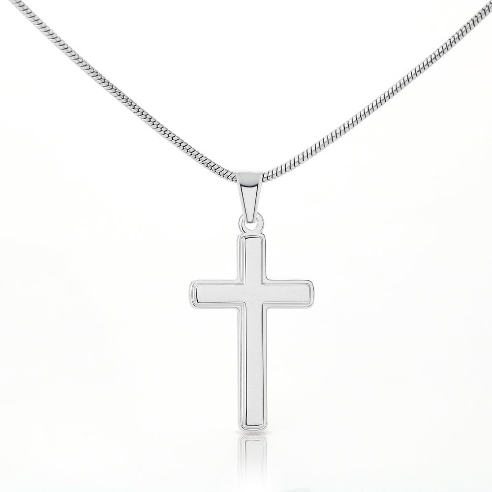 "Young Daughter ""Artisan Crafted Cross"" Necklace (style 20)"