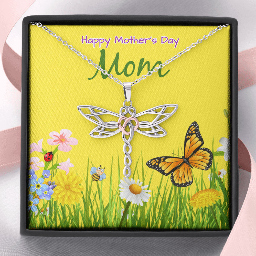 "Mother gift ""Dragonfly Dreams"" Necklace (style 39)"