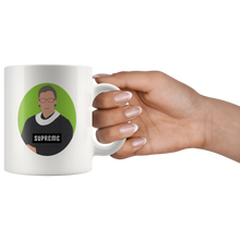 "Load image into Gallery viewer, Ruth Bader Ginsburg ""Supreme"" Mug"