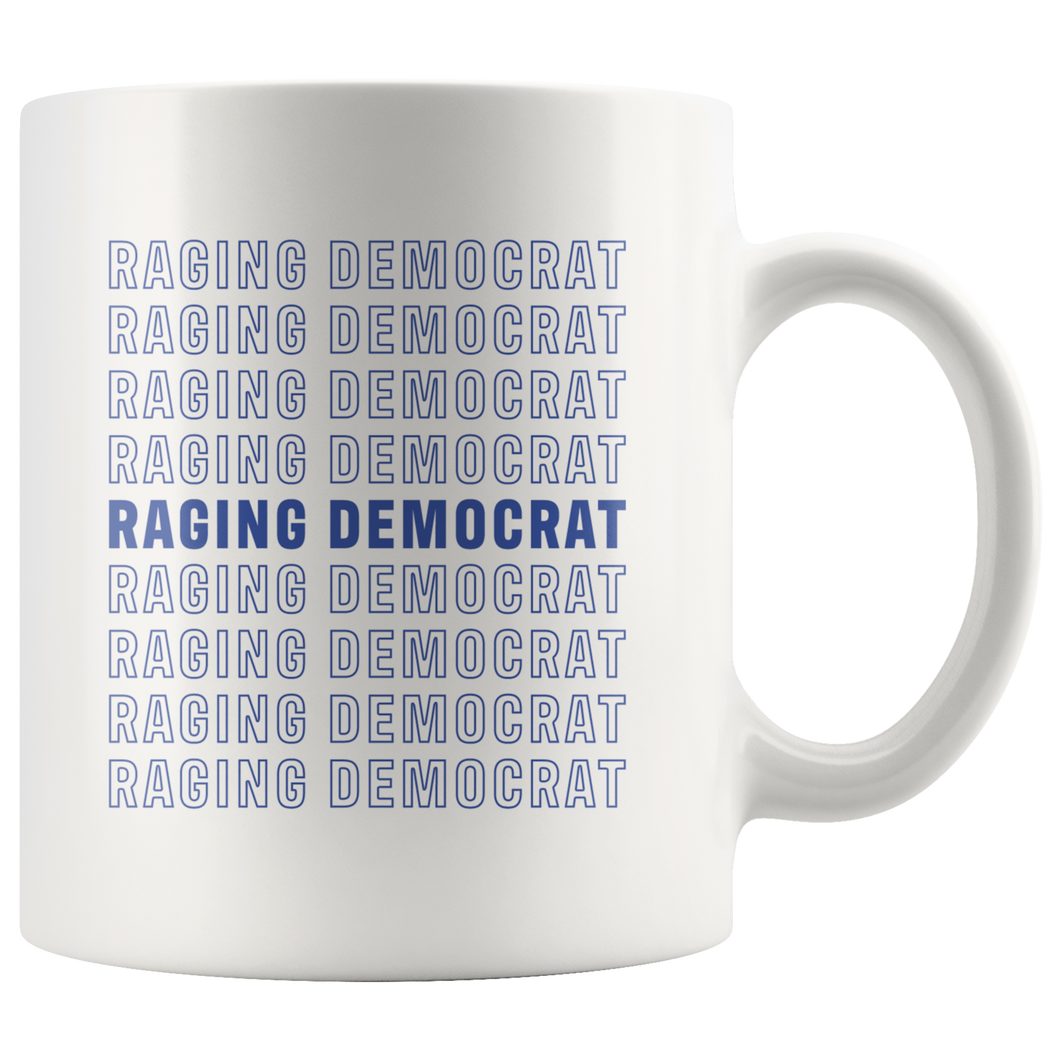 Raging Democrat Mug