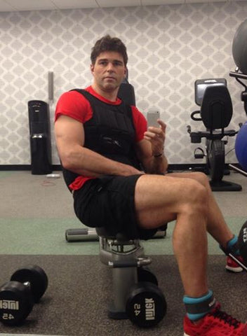 Jaromir Jagr providing a perfect example of how to treat your body for recovery