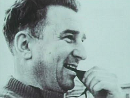 Anatoli Tarasov enjoying coaching