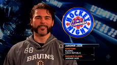 Jaromir Jagr of the Boston Bruins