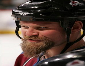 Scott Parker of the Colorado Avalanche