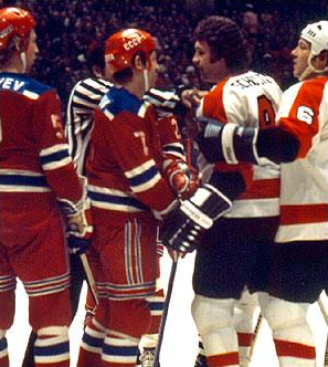 Flyers vs Red army 1976