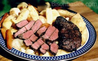 BBQ New York Bison Strip Steak