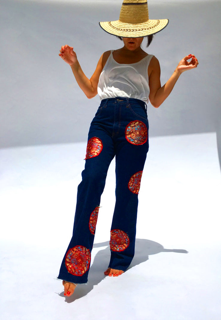 Chinese Circles Jeans