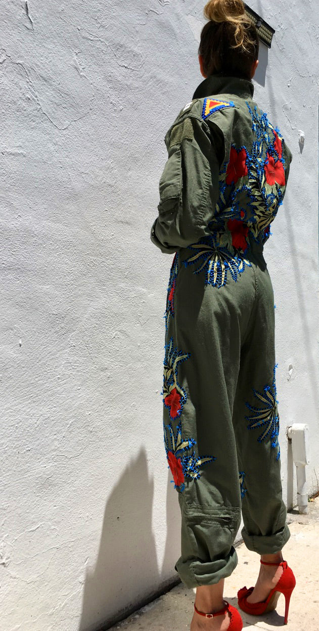 Jamaica Aviator Jumpsuit
