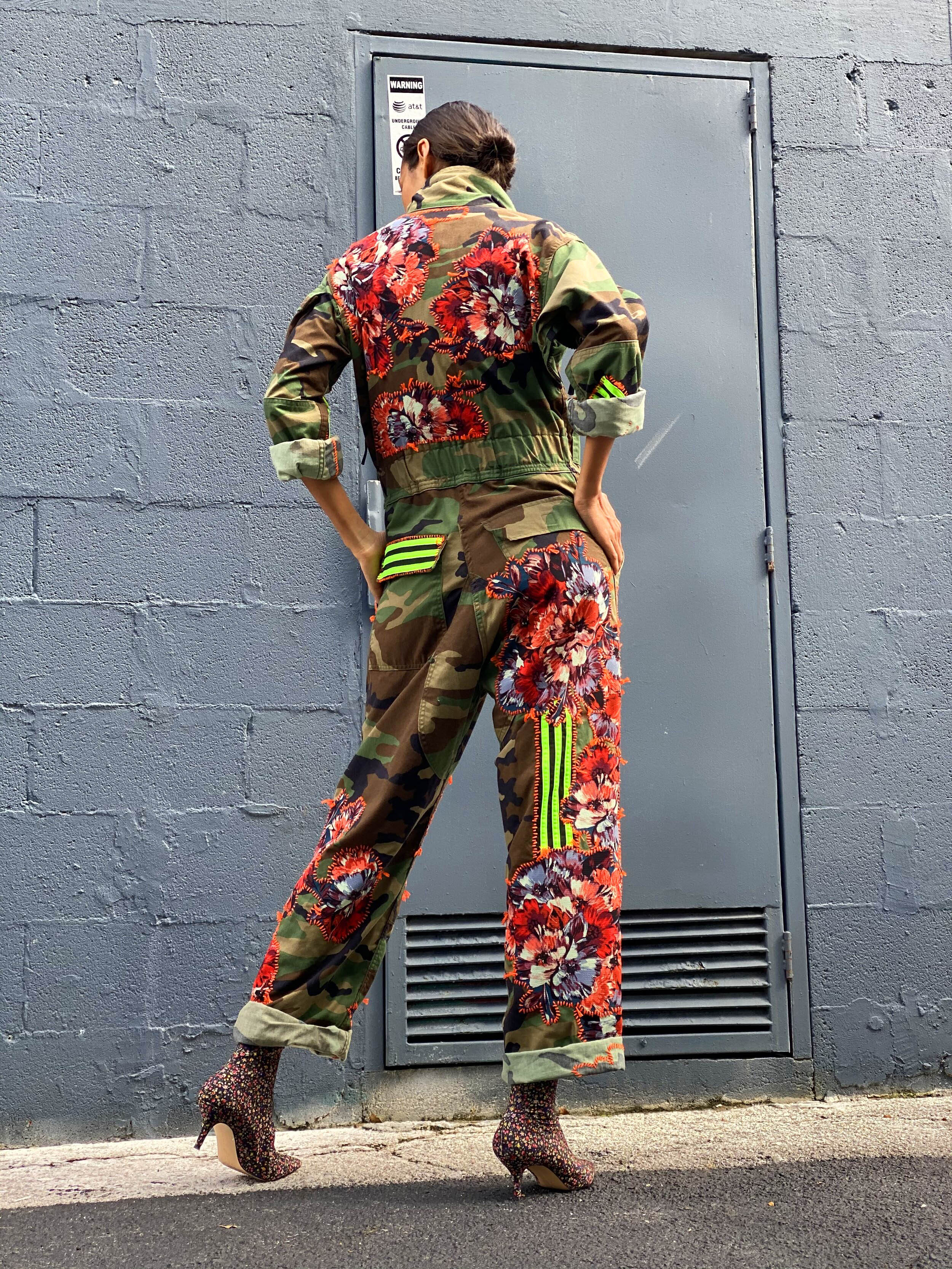 Make A Change Camo Jumpsuit