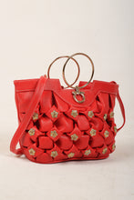Load image into Gallery viewer, Red Stones Handbag