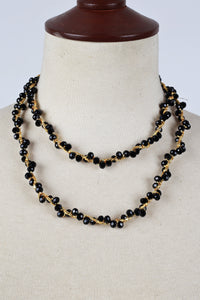 Black Handmade Necklace
