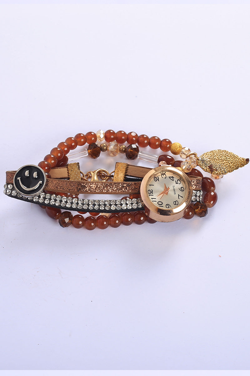 Crescent Watch Bracelet