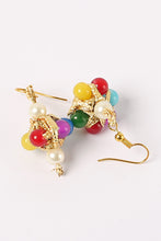 Load image into Gallery viewer, Multi Color Pearl Earrings