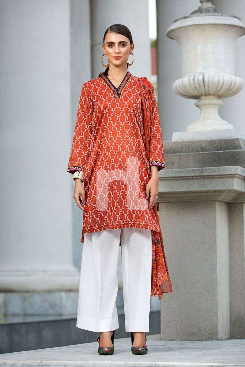 Nishat Printed Lawn 2 Pc